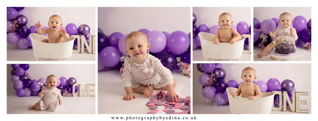 From Newborn To 1st Cake Smash Session