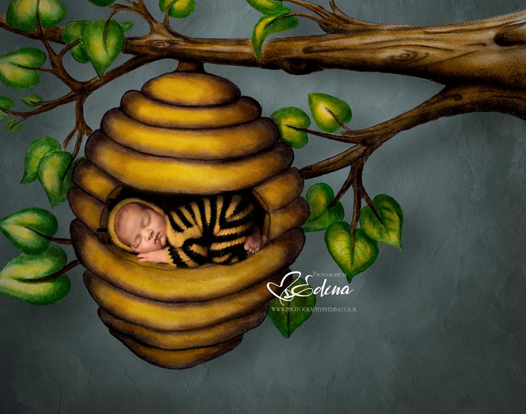 bumble bee newborn