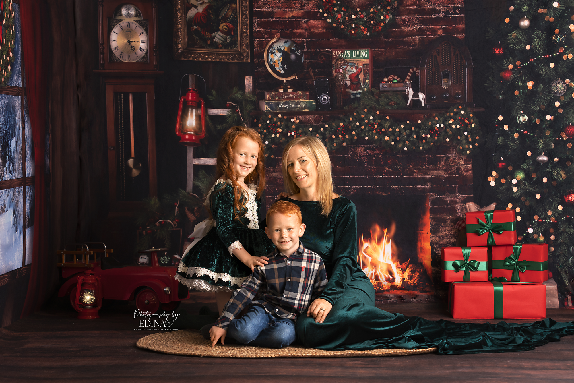 FAMILY CHRISTMAS SESSIONS IN YORK